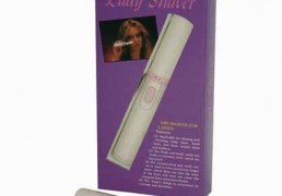 This lady shaver will keep the bikini line in order. It is simple, compact, comfortable to use and comes with a brush.