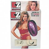 EZ PLEASER SEX EGG WITH REMOVABLE SILICONE SLEEVE PURPLE