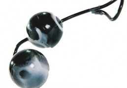 OSCILATING UNISEX DUO BALLS BLACK & WHITE