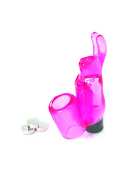 SILICONE RABBIT FINGER SLEEVE