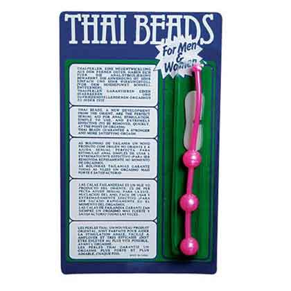 THAI BEADS PLASTIC FOR HIM OR HER PINK