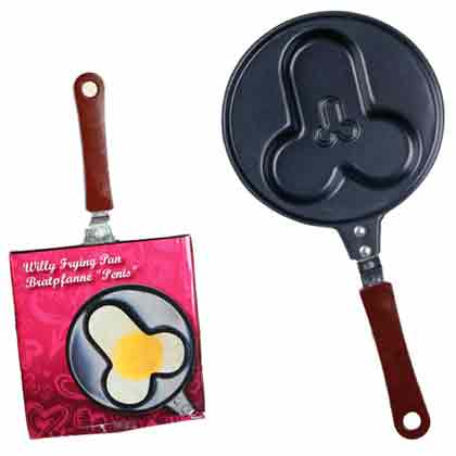 PENIS SHAPED FRYING PAN