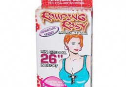 ROMPING ROSY INFLATABLE MINI SIZE DOLL