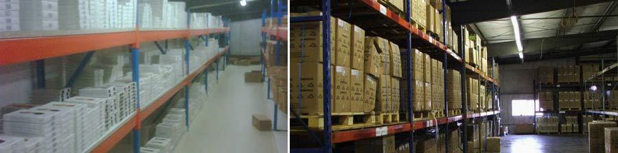 Main suppliers warehouse