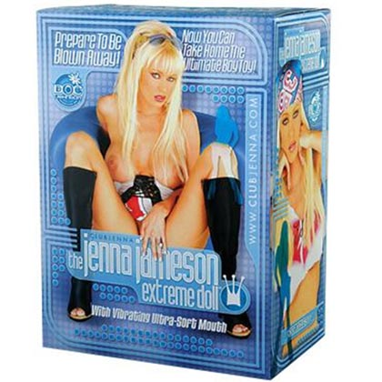 JENNA JAMESON EXTREME LOVE DOLL WITH LIFE LIKE VAGINA ASS