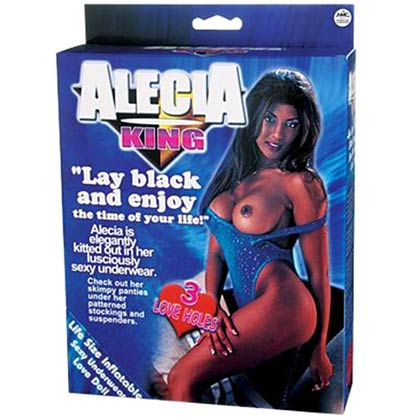 ALECIA KING LIFE SIZE LOVE DOLL WITH 3 PENETRATING HOLES