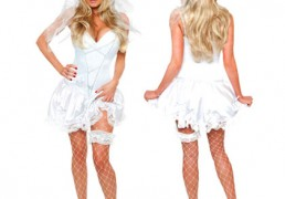 Role Play Bride to Be Costume