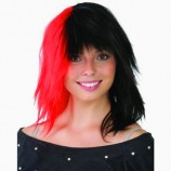 Black--Red-Wig