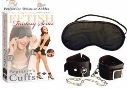 FETISH FANTASY BEGINNERS BONDAGE RESTRAINTS BLACK
