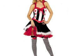 ROLE PLAY QUEEN OF HEARTS COSTUME