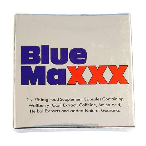 BLUE MAXXX MALE LIBIDO ENHANCER PILLS